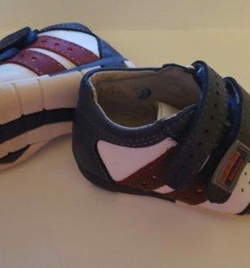 Ботинки кожаные Котофей