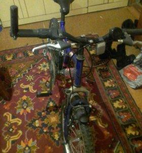 Скромной велосипед, 5 скоростей подростковый