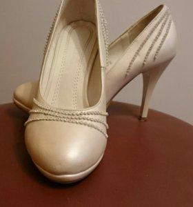 Свадебные туфли айвори
