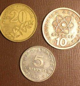 Монеты Греции (обмен)