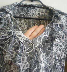 Красивая блуза из шифона