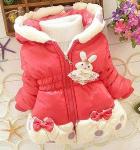 Курточка для девочки р.86