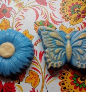 """Мыло """"Набор бабочка с цветочком"""""""