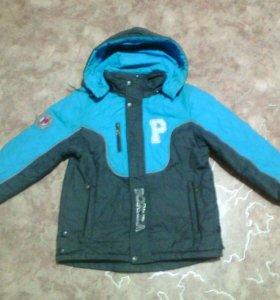 Куртка д/с на мальчика 10-12 лет