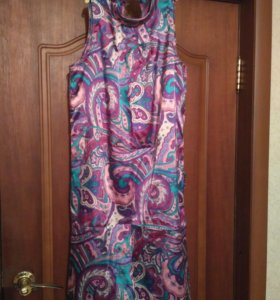 Платье атласное 44-46