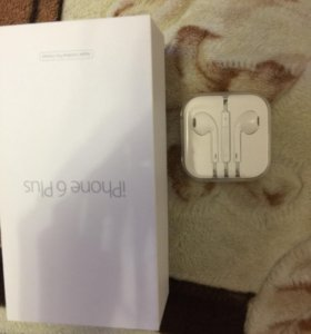 Наушники от iPhone 6 Plus