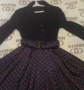 Супер платье LV