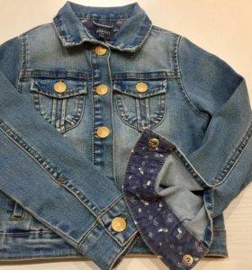 Джинсовая куртка Mango для девочки