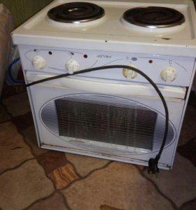 Плита двухконфорочная с духовкой
