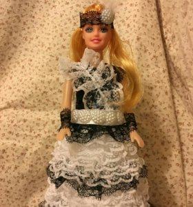 Кукла шкатулка (ручная работа)