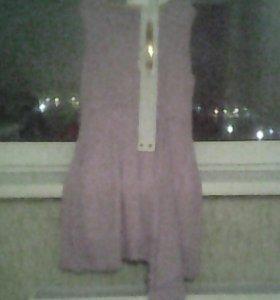 Платье новое р.42 фиолетовое