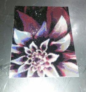 Картина мозаика (алмазная вышивка)