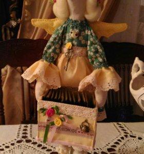 Куклы Тильда-чайница☕