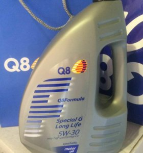 Масло моторное Q8 Formula Special G 5w30