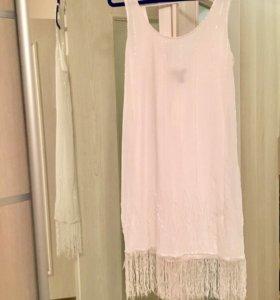 Новое коктейльное платье xs