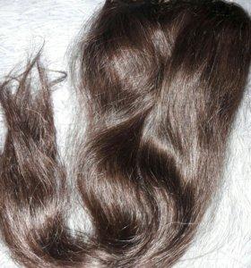 Волосы натуральные для наращивания.