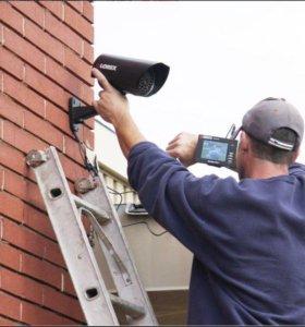 Установка / ремонт видеонаблюдения