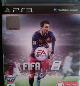 Игровой диск на ps3. Fifa 2016