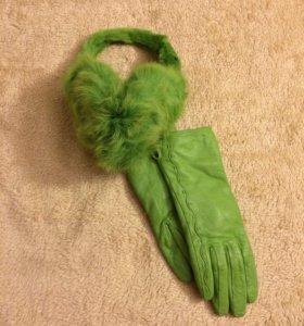 Перчатки и наушники
