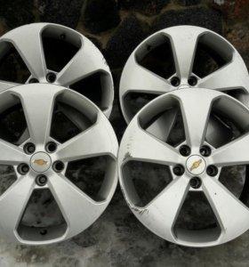 Комплект оригинальных дисков Chevrolet R17
