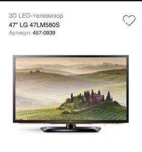 Телевизор LG 47LM580S 3d