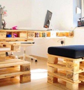 Оригинальная мебель из паллет(поддонов)