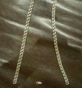 Цепочка серебряная 54 грамма