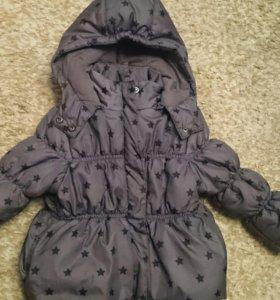 Курточка на девочку от 1-2 лет