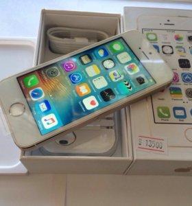 iPhone 5s gold (как новый)