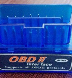 Сканер Мини V2.1 ELM327 OBD2 (Bluetooth)