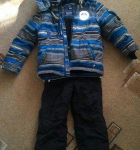 Зимний костюм 116 р.