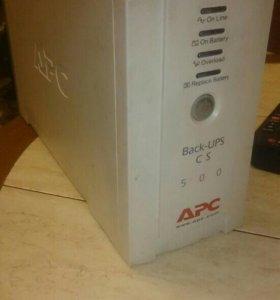 Бесперебойный блок питания Back - UPS CS 500 APC