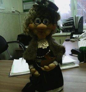 Кукла из капрона.