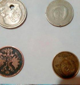 Монеты продам все за 300 руб.