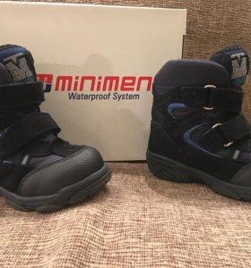 Ботинки Minimen (зима),24 р.