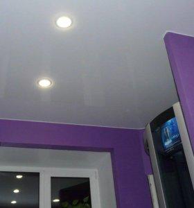 Ремонт и монтаж натяжных потолков