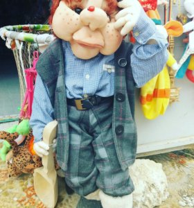 чулочная большая кукла