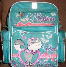 Рюкзак школьный+ мешок для обуви monster high