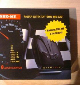 "Радар-детектор ""SHO-ME 520"""
