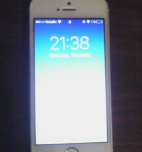 Совершенно новый Айфон 5 s