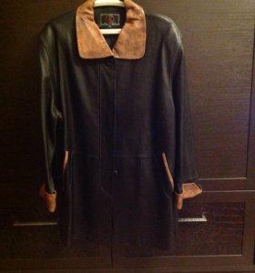 Куртка кожаная новая р-р 56