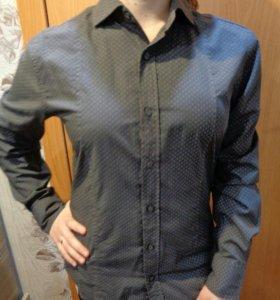 Мужские рубашки S-M