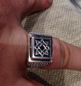 Мужской перстень из серебра
