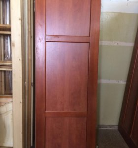 Дверь из массива сосны( вставки мдф)
