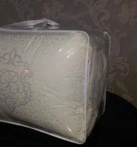 постельный комплект 2х спалка,подушки(холлофай)250