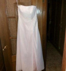 Платье вечернее или свадебное в пол