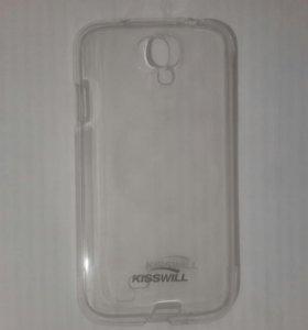 Силиконовый чехол на Samsung Galaxy S4 (i9500)