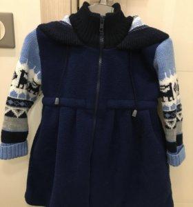 Пальто для девочки на 2-3 года Gakkard