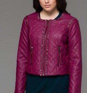 Новая кожаная куртка Silvian Heach