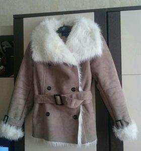 Куртка дубленка ostin